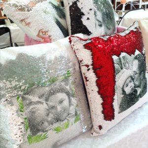 Cushions- Flip Sequins
